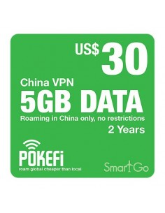 5GB Datenpaket China (US$ 30)