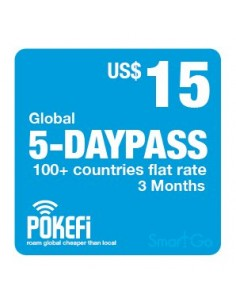 5-Tagespass (US$ 15)