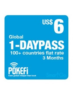1-Tagespass (US$ 6)